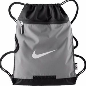 Nike Team Grey Training Gym Sack Drawstring